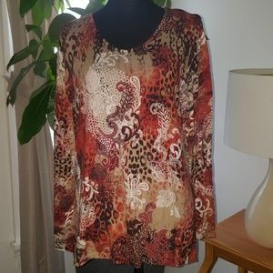 Chico's lightweight sweater size 3 (XL/16)